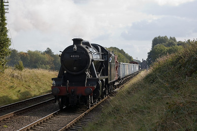 48305 leaving Quorn & Woodhouse