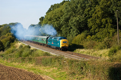 55019 'Royal Highland Fusilier' at Kinchley Lane
