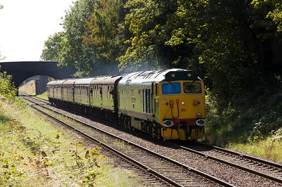 50007 'Sir Edward Elgar' near Charnwood Water