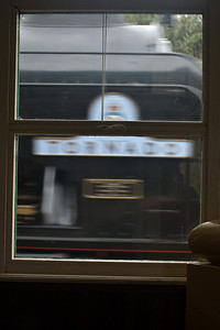 Passing Rothley booking office