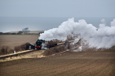 1744 approaching Weybourne