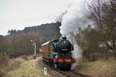 1744 approaching Kelling Heath Park