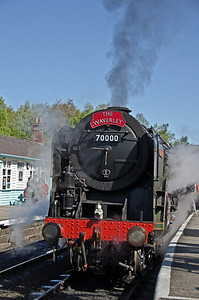 70000 'Britannia' at Grosmont