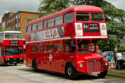 RML2272 outside Potters Bar garage