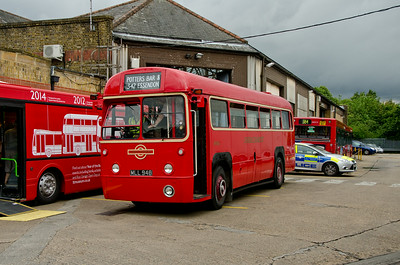 RF530 outside Potters Bar garage