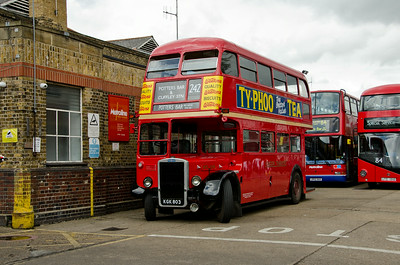 RTL139 outside Potters Bar garage