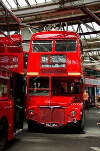 RM857 inside Potters Bar garage