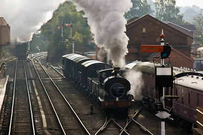 813 at Bewdley