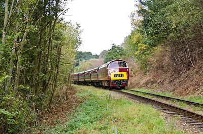 D1062 'Western Courier' north of Bewdley