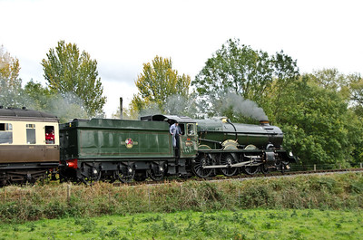 6024 'King Edward I' near Hay Bridge