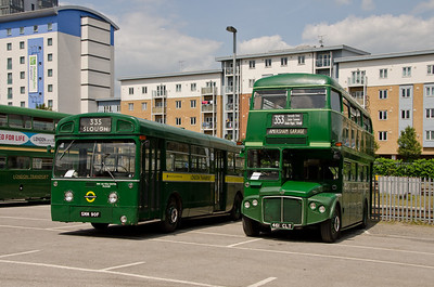 MB90 and RMC1461 in Slough station car park