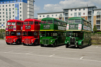 RM188, RM1397, RML2412 and RT4779 in Slough station car park