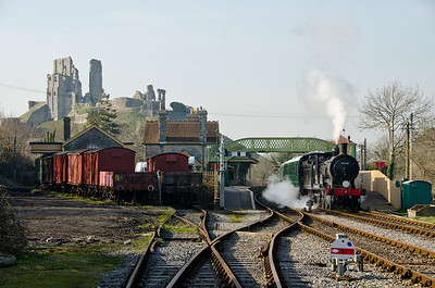 30120 at Corfe Castle
