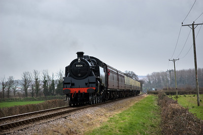 80104 approaching Dunster