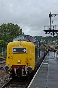 55022 'Royal Scots Grey' at Minehead