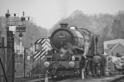 6024 'King Edward I' at Bishops Lydeard