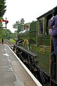 5029 'Nunney Castle' as 5026 'Criccieth Castle' at Crowcombe Heathfield
