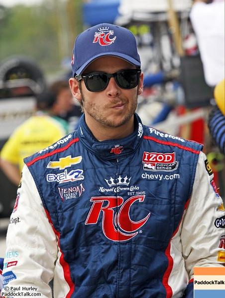 2012 IndyCar Friday action from Barber Park. Credit: PaddockTalk/Paul Hurley