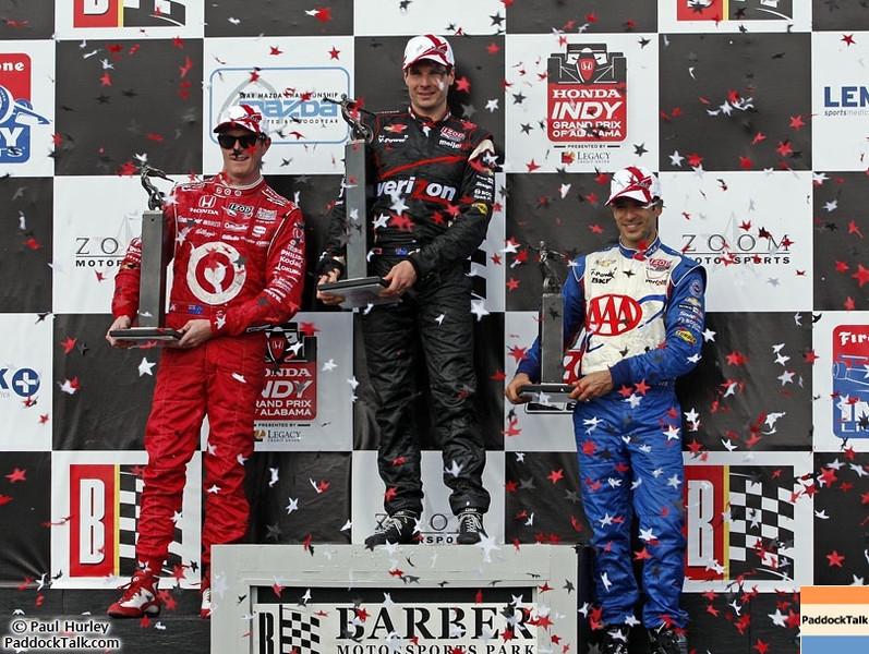 2012 IndyCar Race action from Barber Park. Credit: PaddockTalk/Paul Hurley
