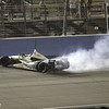 SEPTEMBER 15 2012  Ed Carpenter celebrates his win at Auto Club Speedway