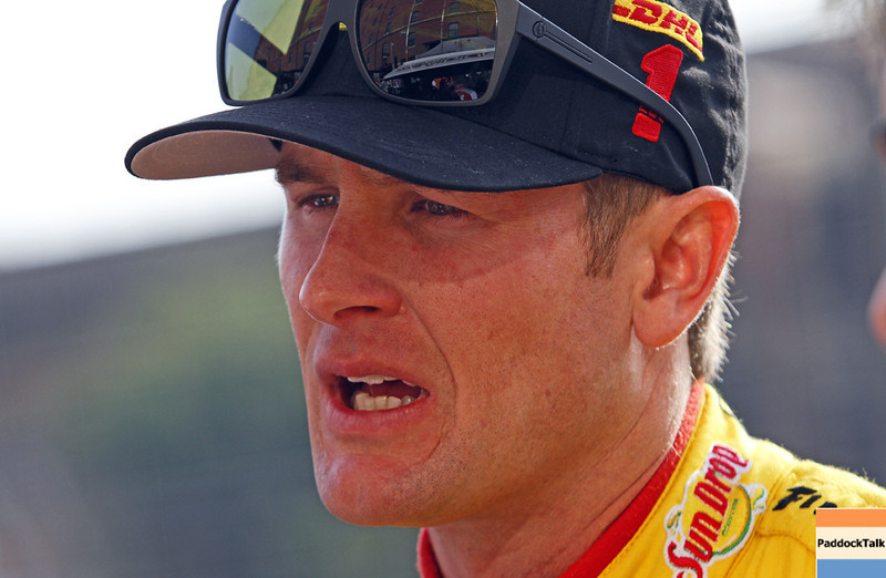 August 31: Ryan Hunter-Reay during qualifying for the Grand Prix of Baltimore.