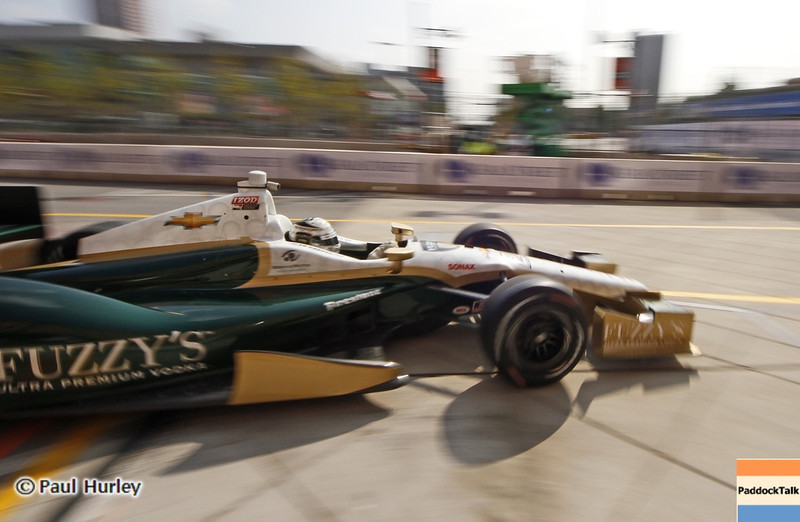 August 30: Ed Carpenter during IndyCar practice for the Grand Prix of Baltimore.