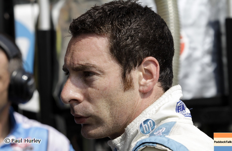 August 30: Simon Pagenaud during IndyCar practice for the Grand Prix of Baltimore.