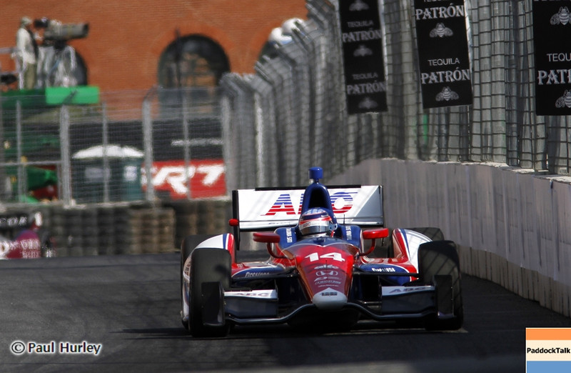 September 1: Takuma Sato during the Grand Prix of Baltimore IndyCar race.