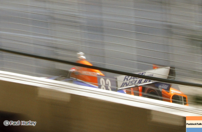 August 30: Charlie Kimball during IndyCar practice for the Grand Prix of Baltimore.