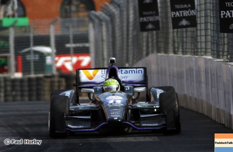 August 31: Tony Kanaan during qualifying for the Grand Prix of Baltimore.
