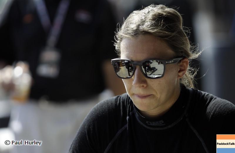 September 1: Simona de Silvestro during the Grand Prix of Baltimore IndyCar race.