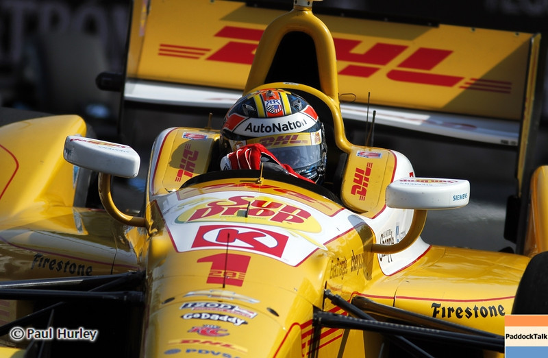 September 1: Ryan Hunter-Reay during the Grand Prix of Baltimore IndyCar race.