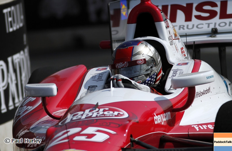 September 1: Marco Andretti during the Grand Prix of Baltimore IndyCar race.