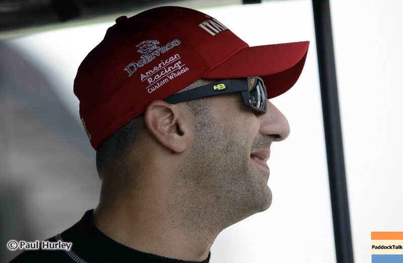 August 30: Tony Kanaan during IndyCar practice for the Grand Prix of Baltimore.