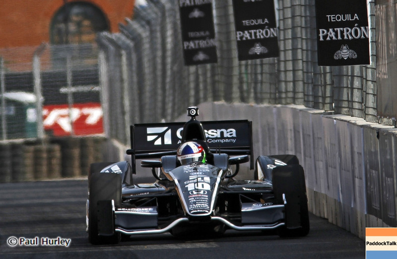 August 31: Dario Franchitti during qualifying for the Grand Prix of Baltimore.