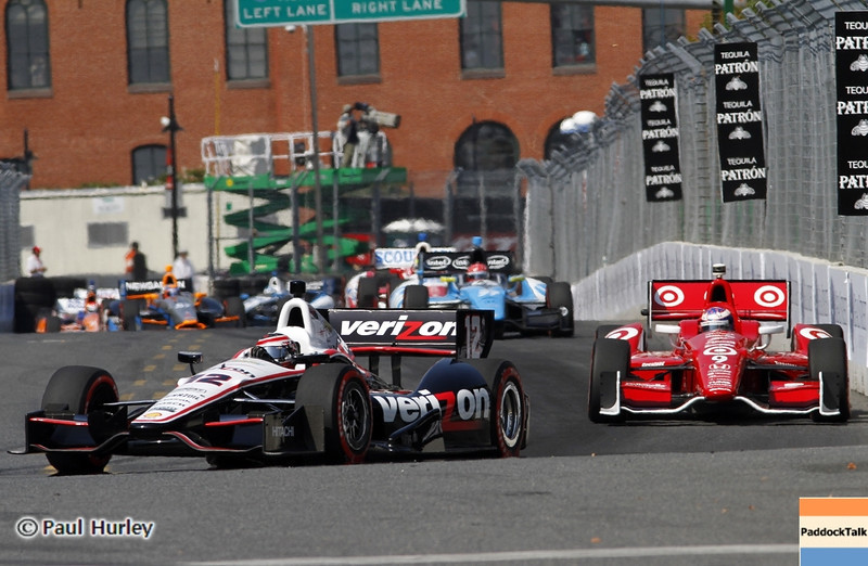 September 1: Lap one during the Grand Prix of Baltimore IndyCar race.
