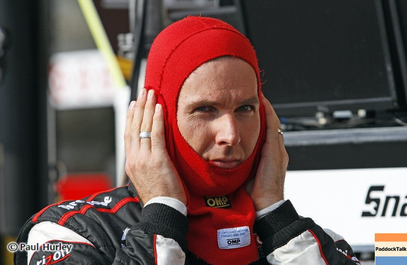 August 31: Will Power during qualifying for the Grand Prix of Baltimore.