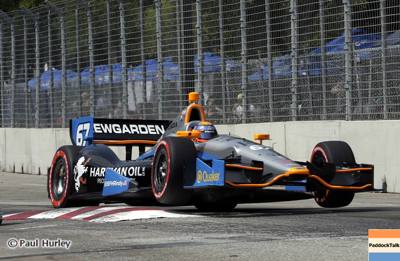 August 31: Josef Newgarden during qualifying for the Grand Prix of Baltimore.