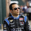 August 30: Helio Castroneves during IndyCar practice for the Grand Prix of Baltimore.