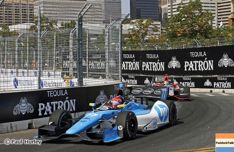 September 1: Simon Pagenaud during the Grand Prix of Baltimore IndyCar race.