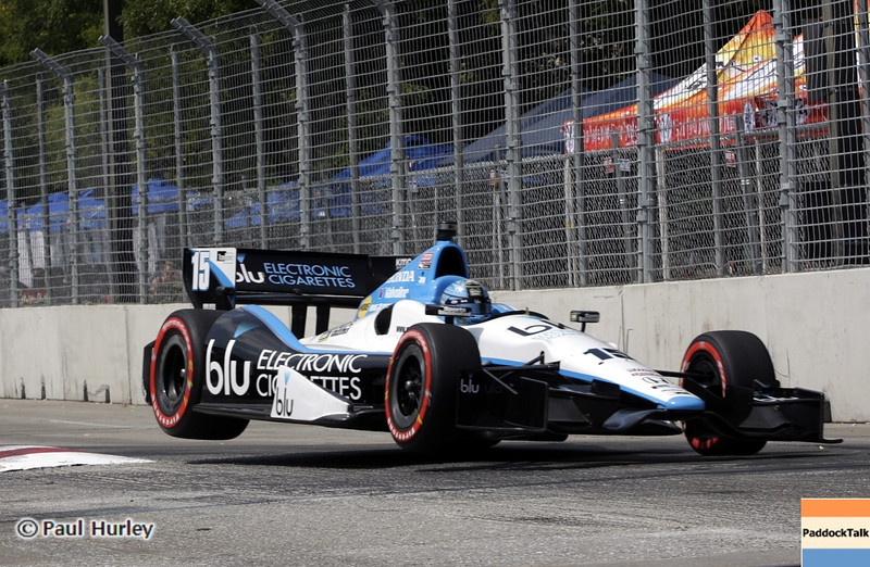 August 31: Graham Rahal during qualifying for the Grand Prix of Baltimore.