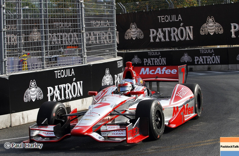 August 31: Sebastien Bourdais during qualifying for the Grand Prix of Baltimore.