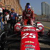 August 30: Marco Andretti during IndyCar practice for the Grand Prix of Baltimore.