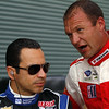 August 30: Helio Castroneves Townsend Bell during IndyCar practice for the Grand Prix of Baltimore.