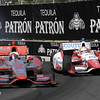September 1: Sebastien Bourdais and Justin Wilson during the Grand Prix of Baltimore IndyCar race.