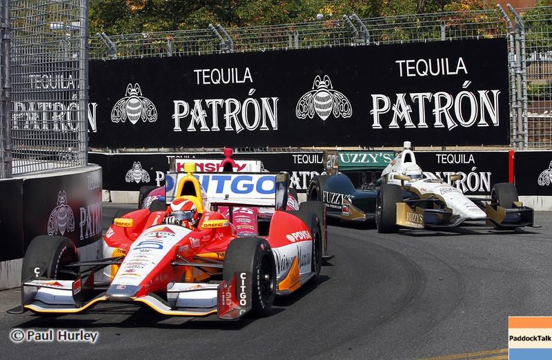September 1: E.J. Viso during the Grand Prix of Baltimore IndyCar race.