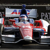 August 31: Takuma Sato during qualifying for the Grand Prix of Baltimore.