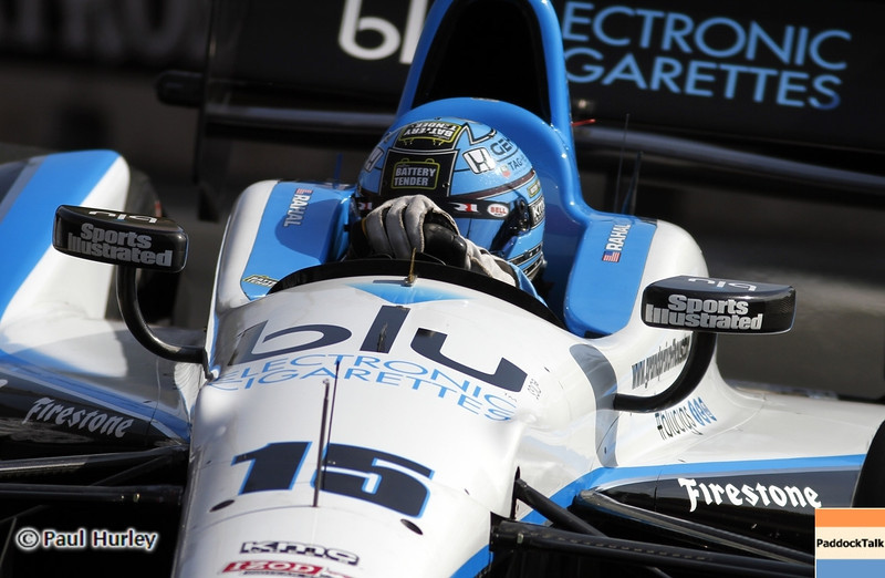 September 1: Graham Rahal during the Grand Prix of Baltimore IndyCar race.