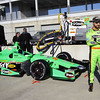 MARCH 12:James Hinchcliffe at IndyCar Spring Training at Barber Motor Sports Park.