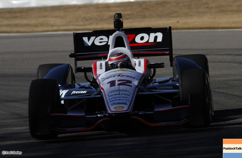 March 13:Will Power at IndyCar Spring Training at Barber Motor Sports Park.